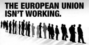 No2EU election leaflet