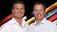 David Coulthard and Martin Brundle
